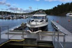 Båtbottentvätt brygga 2